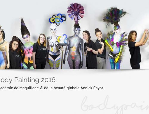 Body Painting : travaux de fin d'année des élèves