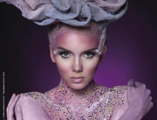 Annick Cayot fait la couverture du magazine «les nouvelles esthétiques»